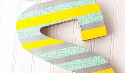 Ideas para decorar con letras tus rincones favoritos