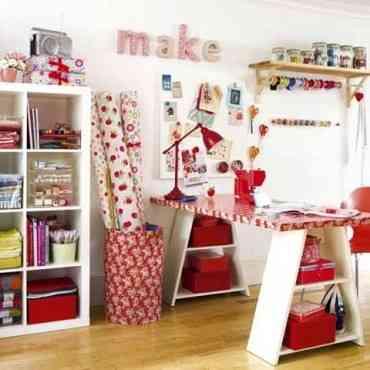 Tips para decorar un pequeño taller de costura