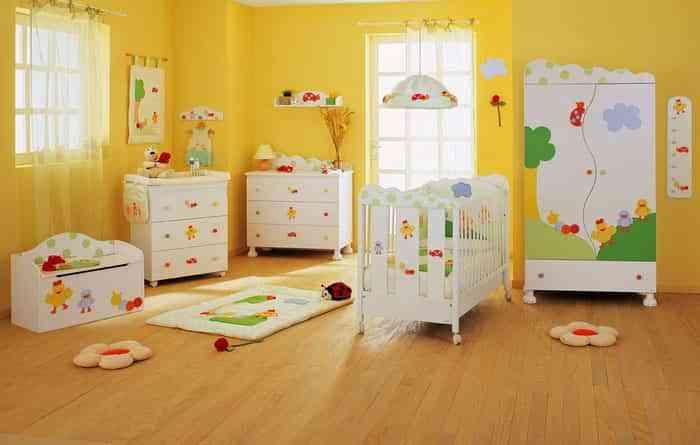 Los mejores colores para la habitación del bebé