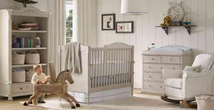 Decorar una habitaci n r stica para beb s - Cunas rusticas para bebes ...