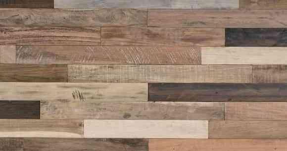 Uso de paneles de madera