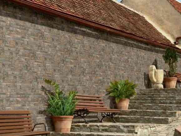 Revestimiento para las paredes exteriores decoracion - Revestimientos de exteriores ...