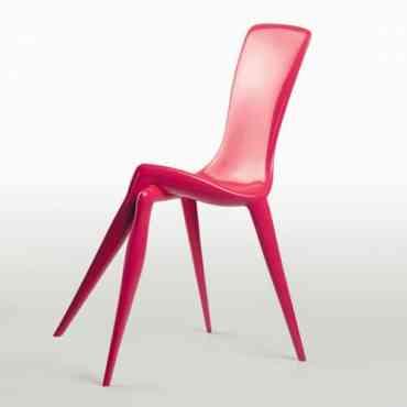 ¿Habías visto alguna vez unas sillas con esta original decoración?