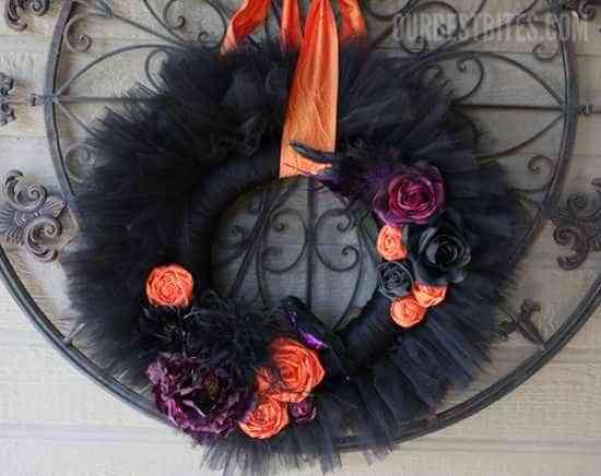 coronas para halloween