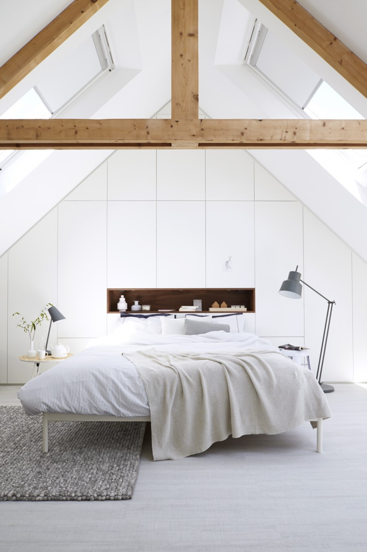 El blanco para decorar espacios pequeños