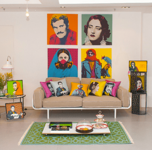 decorar paredes pop art