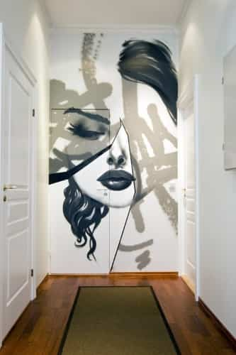 decorar con graffitis