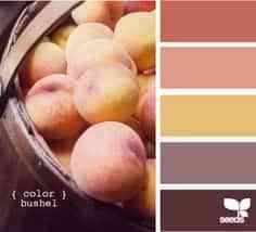 decorar habitaciones colores durazno