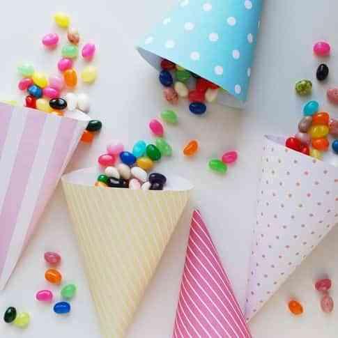 decorar fiesta infantil con conos