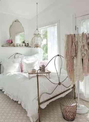 decoración_de_dormitorio_vintage