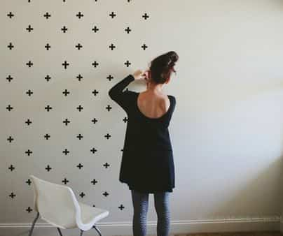 Decorar Una Pared Con Washi Tape U201c