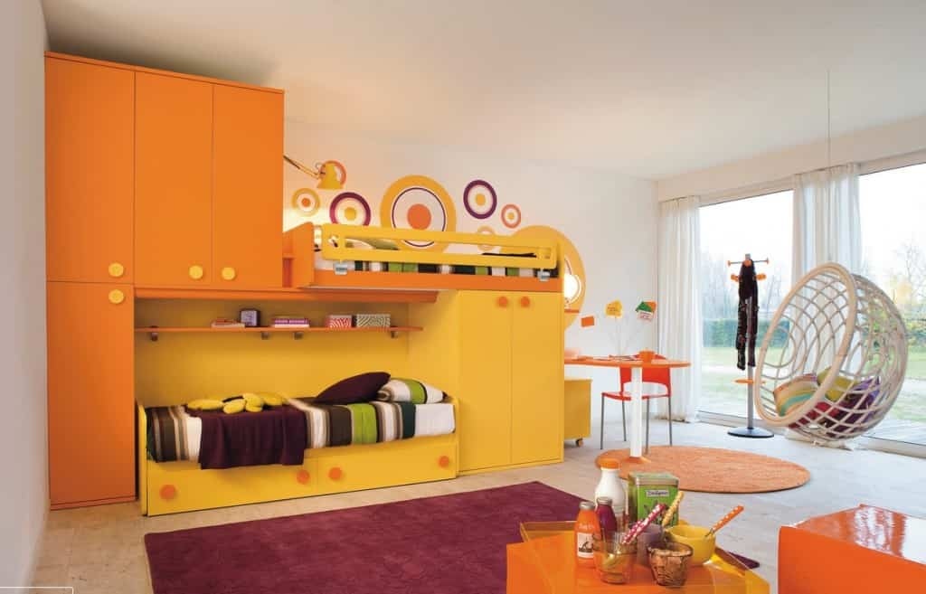 habitacion infantil moderna