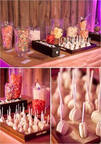 mesas para dulces
