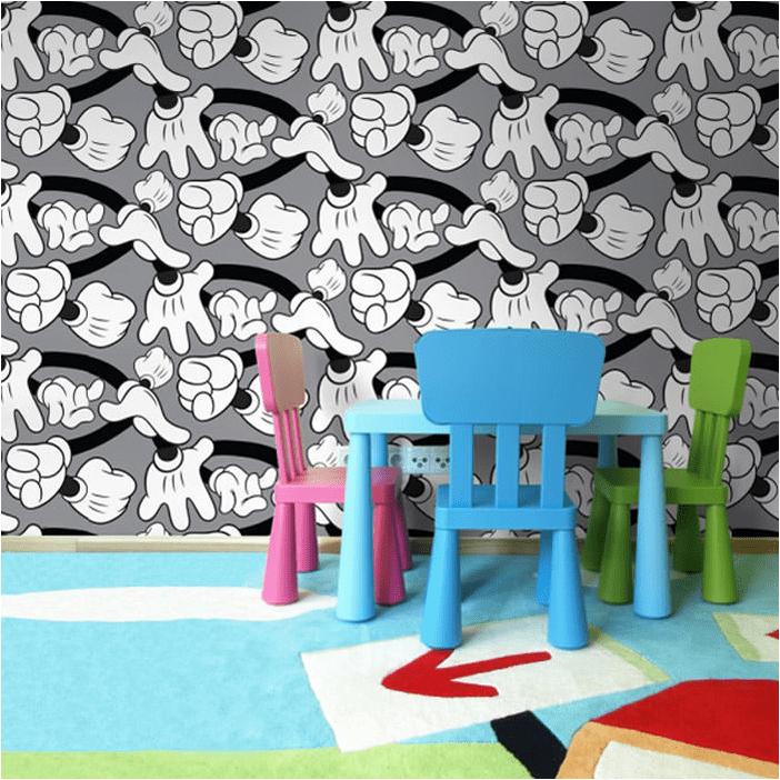 Papel pintado infantil para habitaciones de ni os for Papel pintado comic