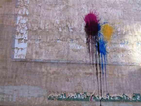 Diferentes pinturas para pared