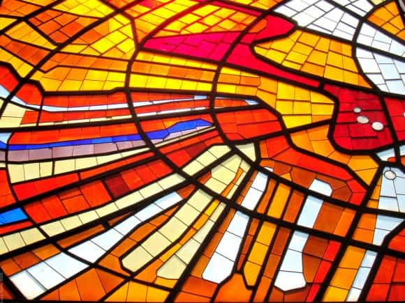 Los vitrales en nuestras casas