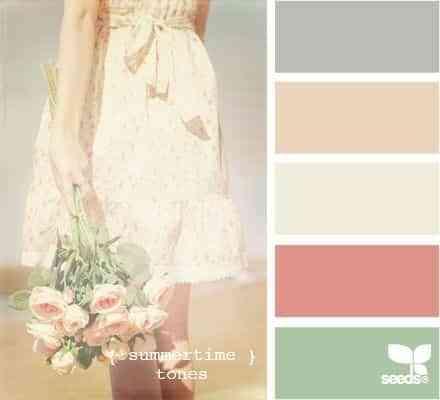 colores para decorar habitaciones femeninas