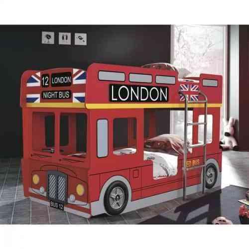 Litera Infantil London Para Dormitorios De Niños