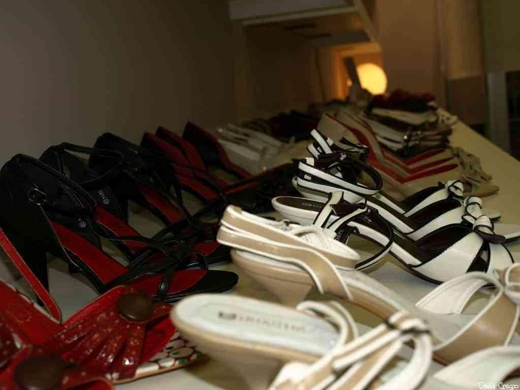 Mantener los zapatos ordenados
