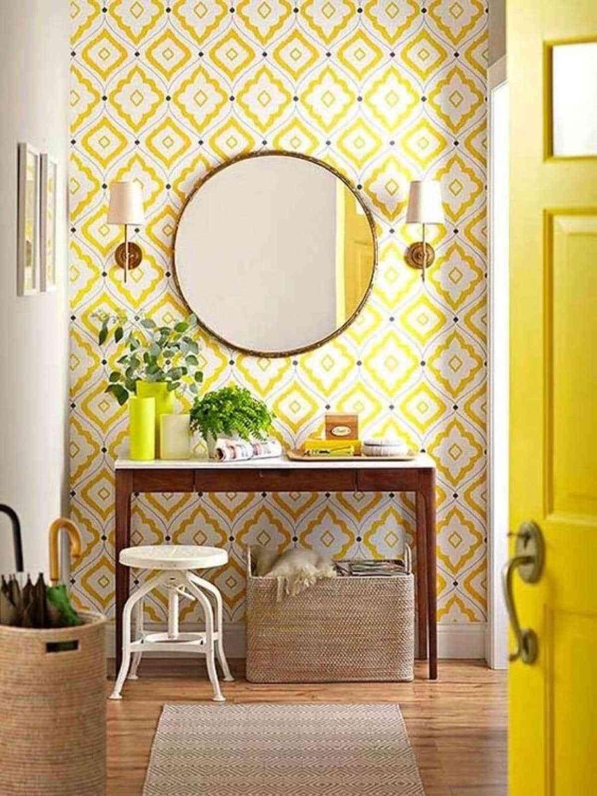 Cu L De Estos 5 Es El Mejor Papel Pintado Para El Recibidor  ~ Decorar Muebles Con Papel Pintado