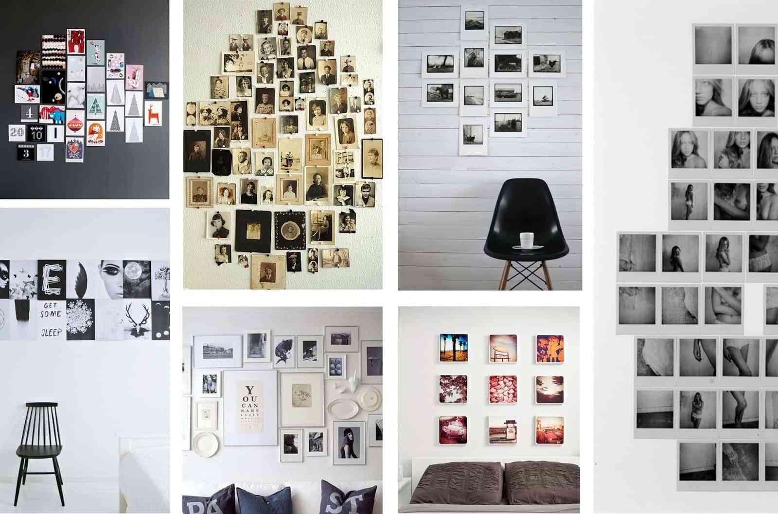 Ideas para decorar las paredes con fotos - Decoracion de paredes fotos ...