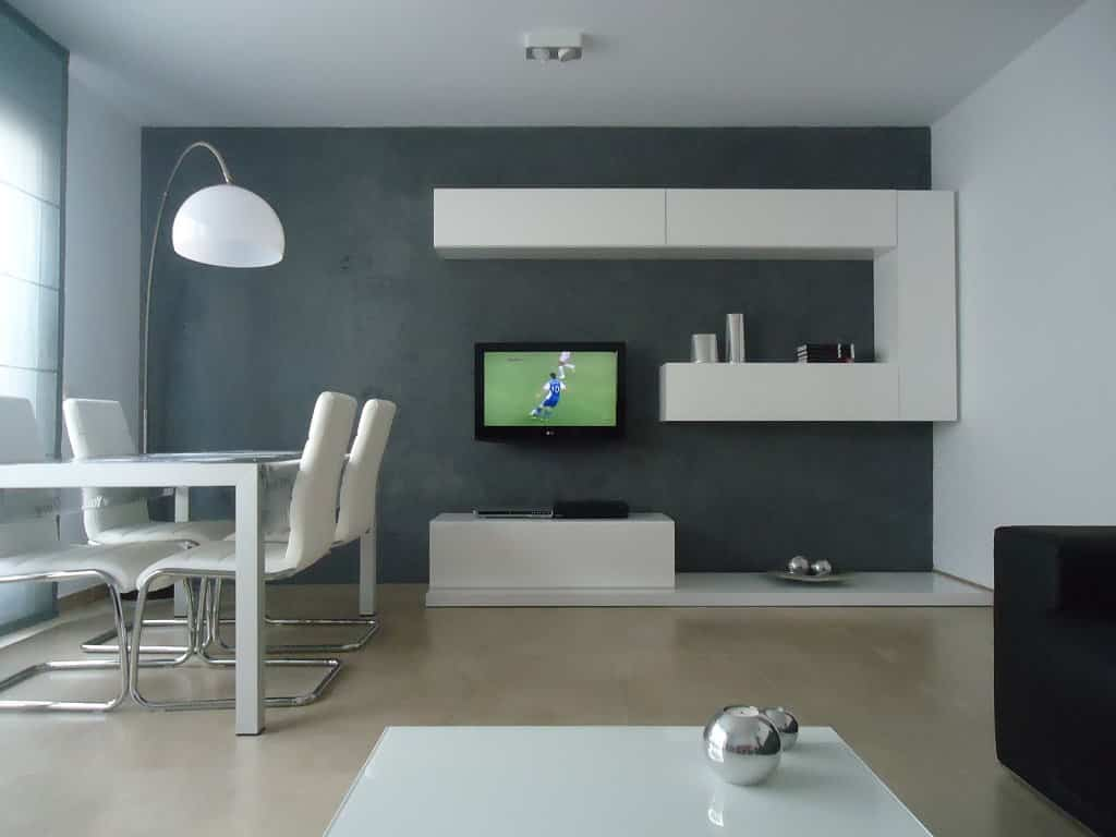 Pintura paredes salon como pintar paredes del salon si - Sofa gris como pintar las paredes ...