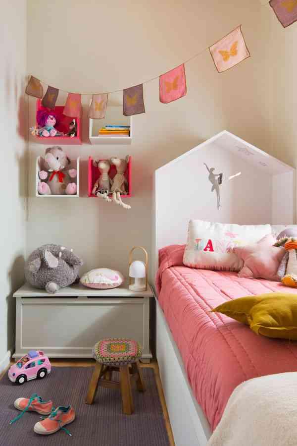C mo decorar una habitaci n infantil de 7 m2 - Decoracion dormitorio nina 2 anos ...