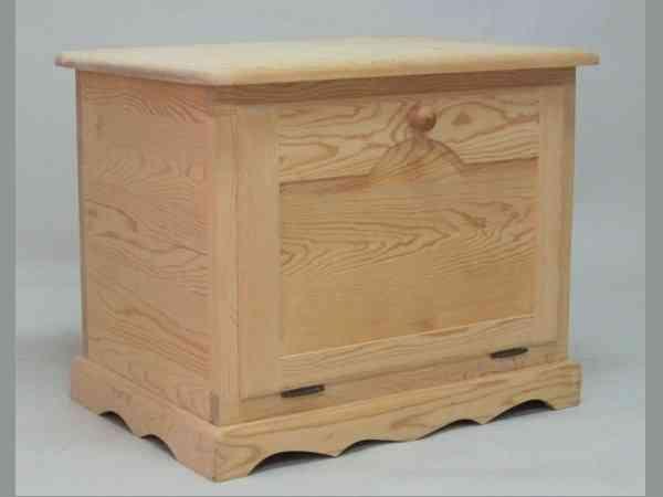 Ba l de madera para organizar y decorar en casa - Como decorar un baul de madera ...