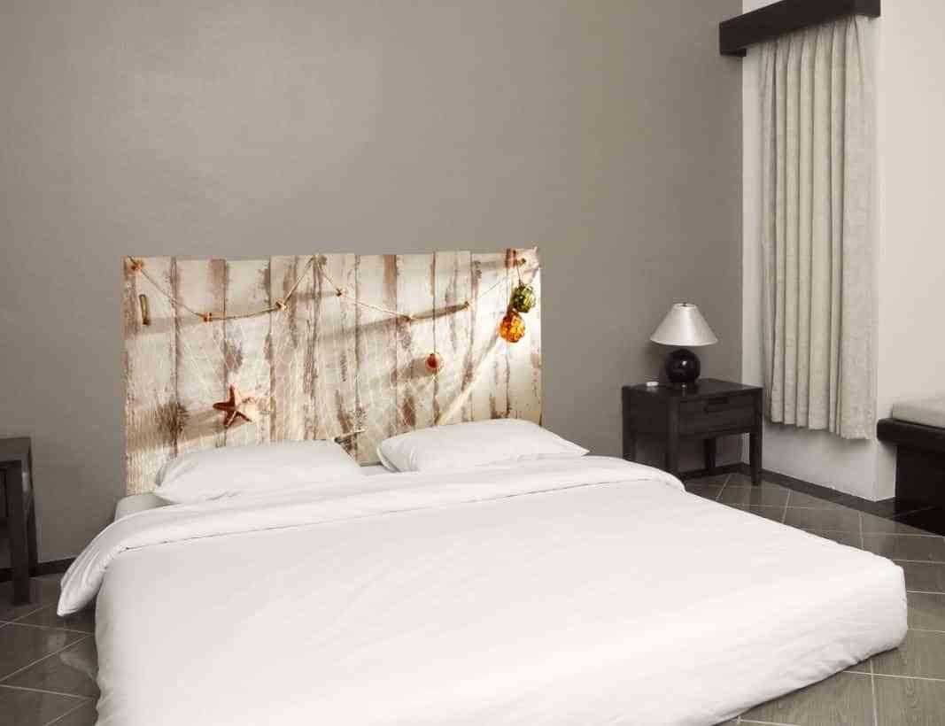 Cabeceros de cama con vinilos de pared - Cabeceros con estilo ...