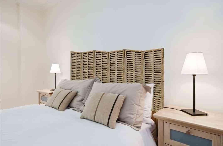 Cabeceros de cama con vinilos de pared - Camas sin cabecero ...