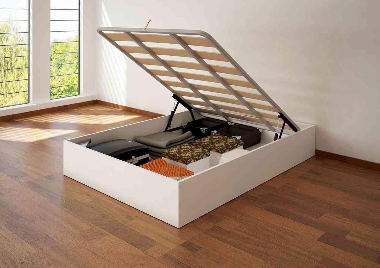 Ahorrar espacio con la cama en el dormitorio - Como hacer un canape ...