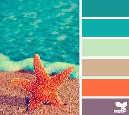 paredes con color veraniego