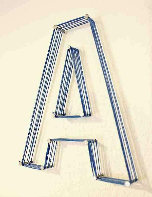 decoracion con letras