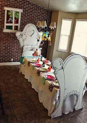 fiesta infantil de caricatura