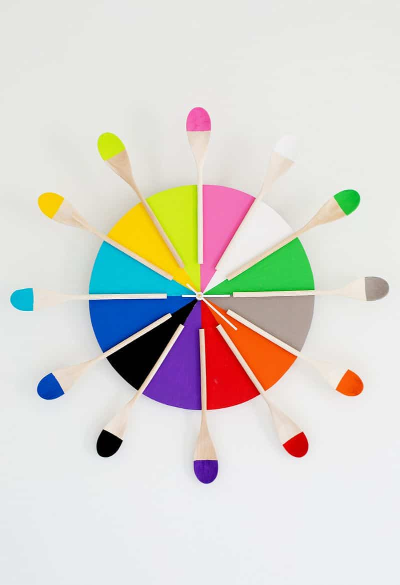 decorar paredes reloj