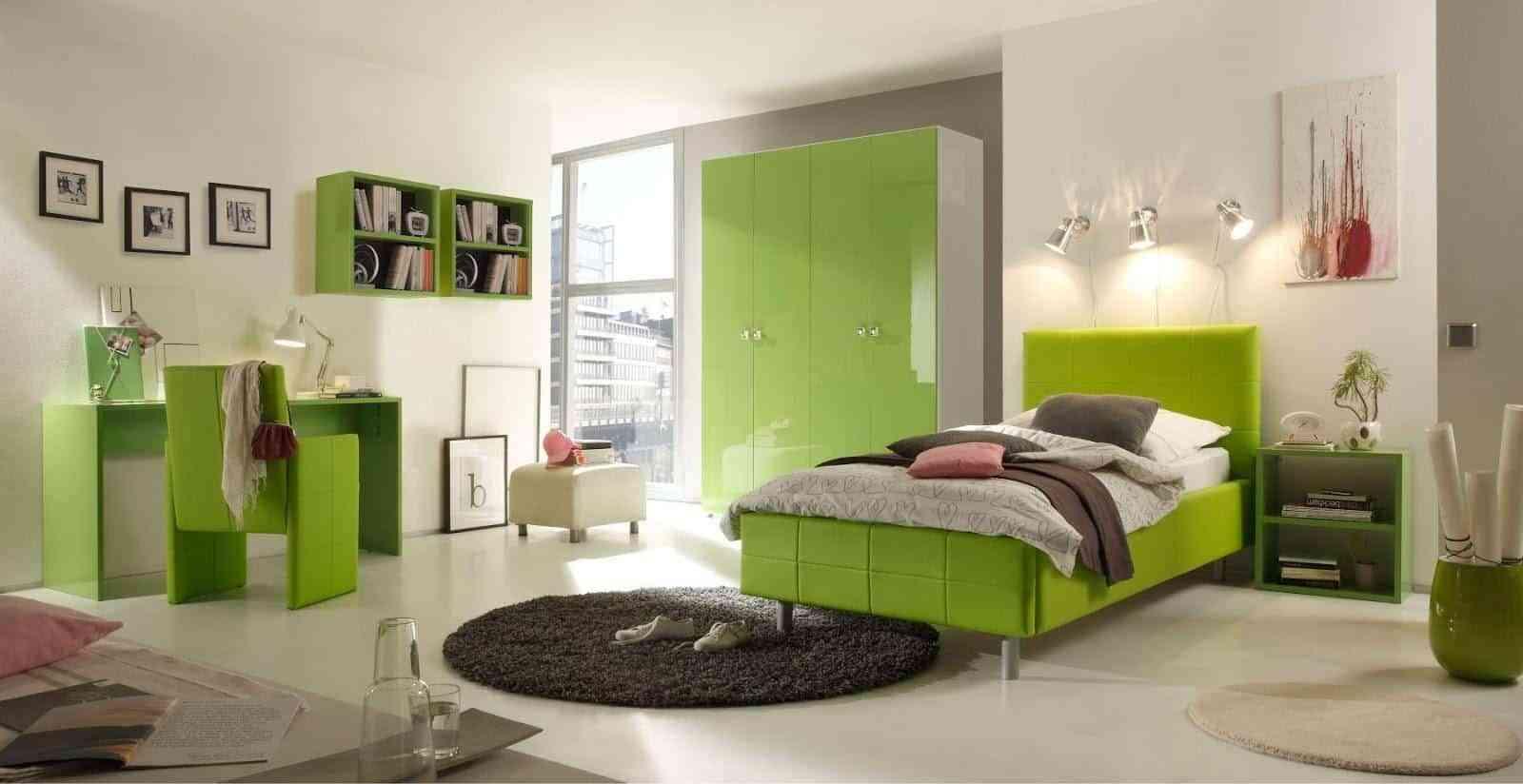 dormitorio color