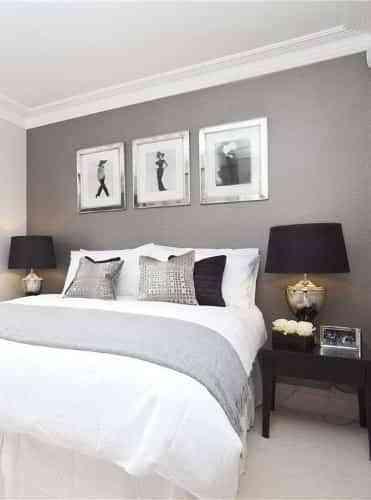 Cómo Combinar Colores Gris Y Blanco Para Decorar Dormitorios