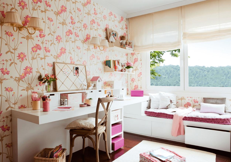 Decorar Un Dormitorio Infantil Al Estilo Retro - Habitacion-retro