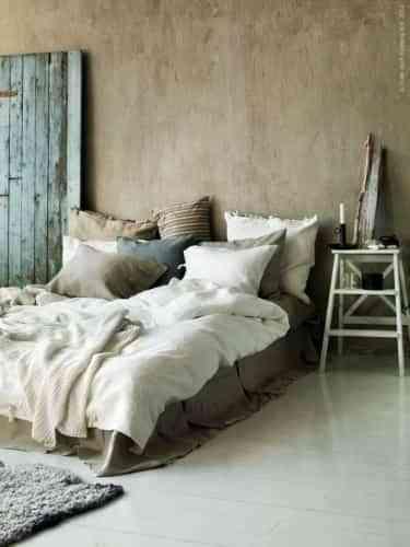 dormitorio rústico sencillo