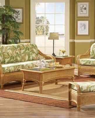 muebles de bambu