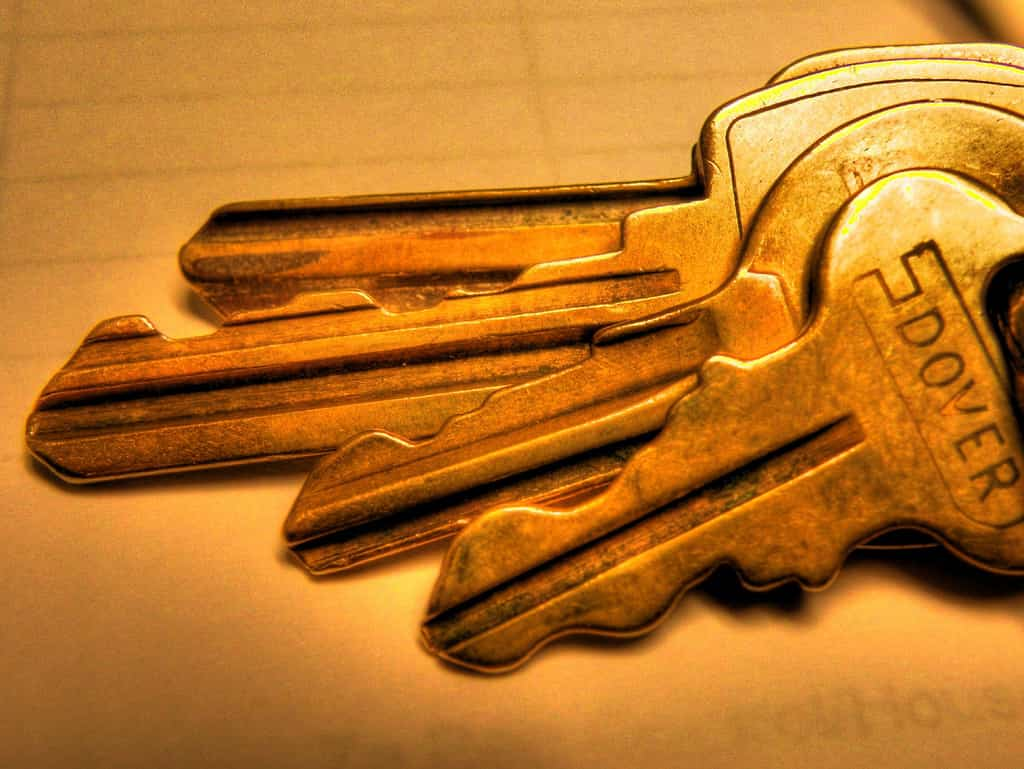 Muebles para guardar llaves