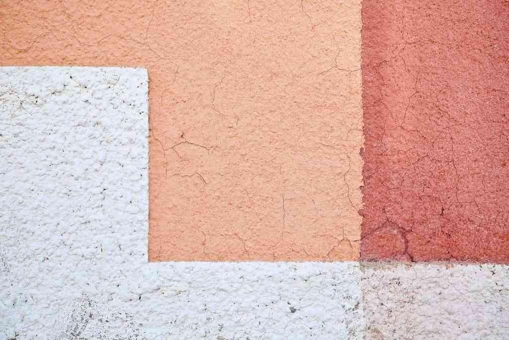pared con pintura