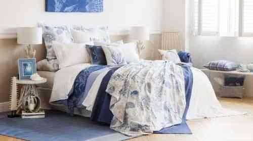 ropa de cama estampado floral