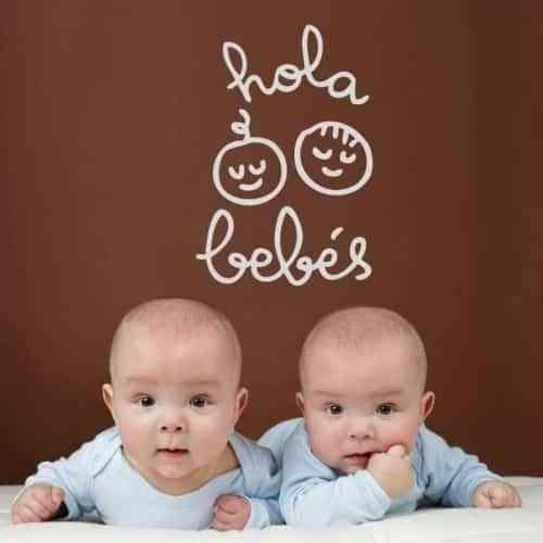 vinilos para decorar dormitorios de bebé