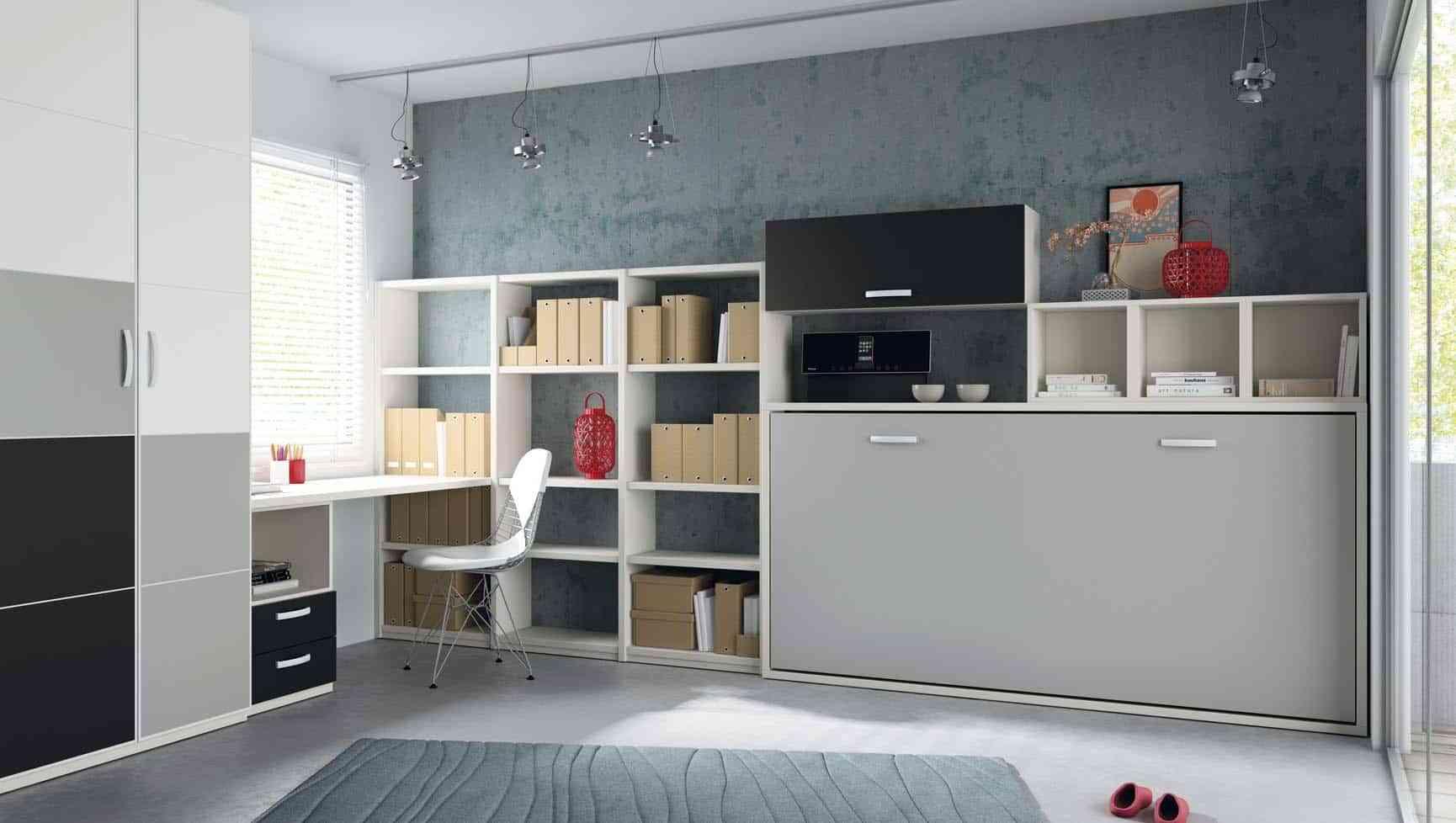 dormitorios juveniles con poco espacio latest decorar