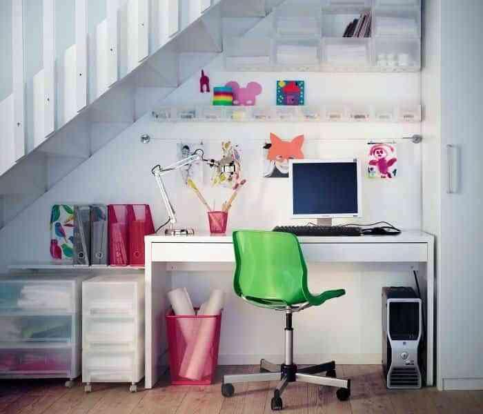 escritorio alegre
