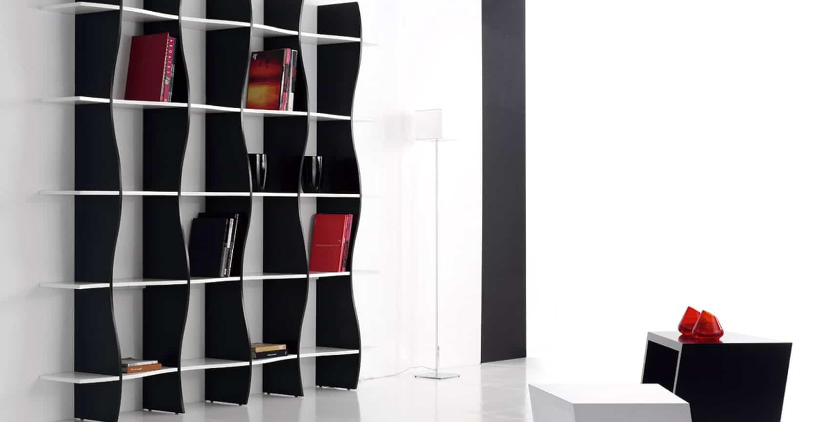 estanterias paredes
