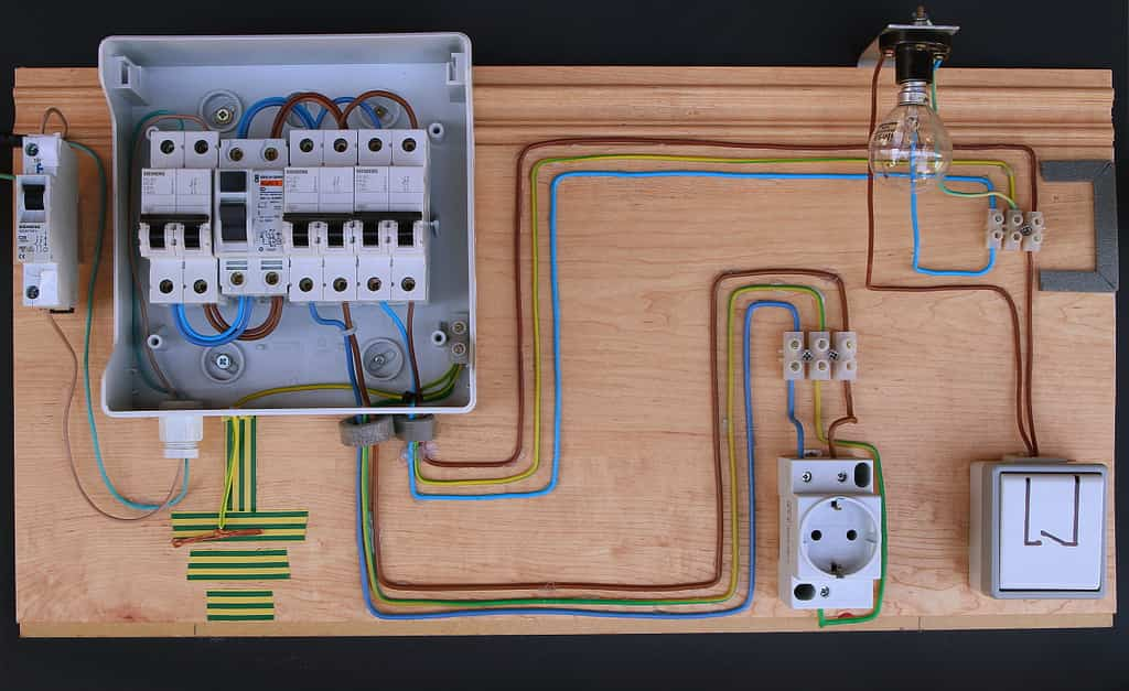 Instalación de cables