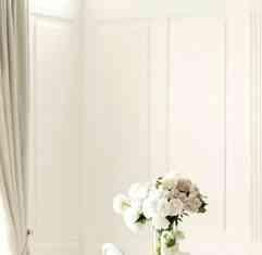 paredes pintadas de blanco