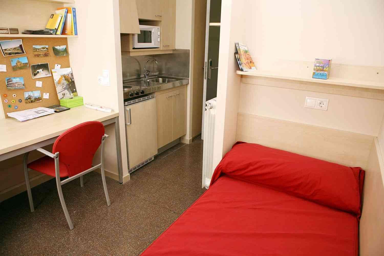 Muebles multifuncionales en pisos de estudiantes - Decoracion piso de estudiantes ...